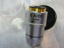 Olympus E A100X oil 1.25 160/0.17 Objective for the CH30