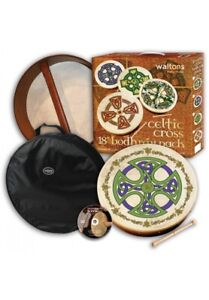 "Waltons 18"" Celtic Cross Bodhran Pack | Brosna Cross"