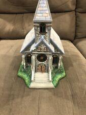PartyLite Olde World Village Tea Light House #2 Church