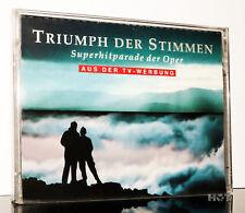 TRIUMPH DER STIMMEN - Super Hitparade der OPER Doppel MC Kassette tape cassette