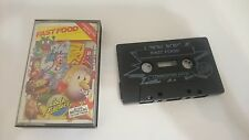 FAST FOOD JUEGO CASSETTE COMMODORE 64 128 CMB 64 C64 PAL