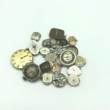 Lot of 19 Antique Vintage Mechanical Watch Movements Steampunk Lot #4