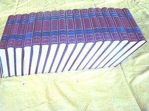 """encyclopédie """"ALPHA""""  en 17 volumes reliés de couleur bordeaux"""