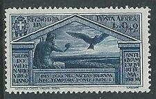 1930 REGNO POSTA AEREA VIRGILIO 9 LIRE MH * - Y066