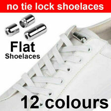 No Tie Locked Lock Elastic Shoelaces Shoe Laces Lazy Laces Sneakers Kids Adults