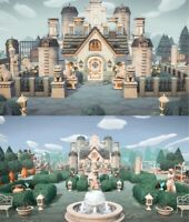 New Horizons - 🏰Grandiose Noble Castle Garden Home ALL 45PCs[Original Design]🏰