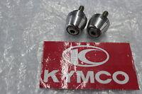 Kymco Dink 125 S3 Lenkerenden Lenkergewichte Vibrationsdämpfer #R7040