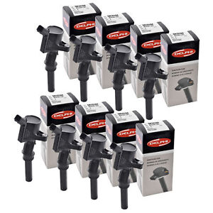 Set of 8 Delphi Ignition Coils for Ford Motor Co
