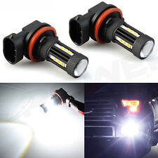 JDM ASTAR 2x H11 H8 Super White 6000K LED Bulbs For Car Truck Fog Lights Lamp