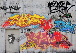 1/18 Echelle (3xA4) Garage Mural - Retirer Et Appliquer Sticker Model Voiture 29