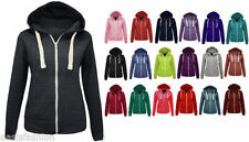 Unbranded Polyester Hooded Plain Hoodies & Sweats for Women