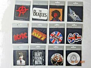 Vinyl Decal Sticker American Bands, Singer UK Logo Car, Helmet, Laptop 60s -70s
