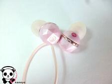 audio-technica inner ear headphone ATH-CKF303 Light Pink