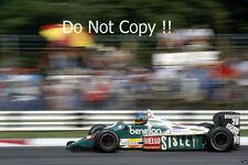 Gerhard Berger BENETTON b186 ITALIANO Grand Prix 1986 fotografia 2