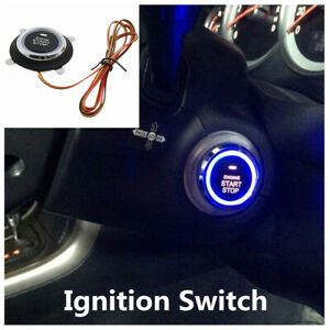 Intelligent One Button Start Button Car Engine Ignition Switch For Keyless Entry