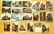 21 Postcards All HILDESHEIM Germany Lot 1900-30 Judenstrasse Jewish Store Fronts