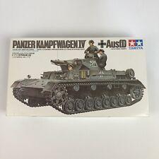 Tamiya Panzer Kampfwagen IV 1/35