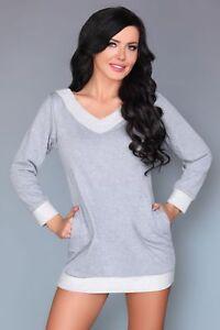 LIVCO CORSETTI Maristela Luxury Super Soft Decorative Long Sleeved Pyjama Dress