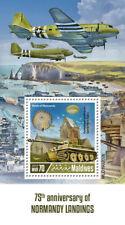 Maldives 2019 Normandy landings , World War II  S201904