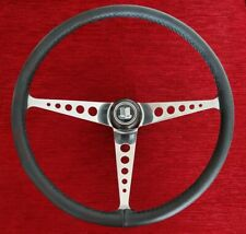 Classic Formula Speedwell Triumph GT6 Lotus Ford Cortina Leather Steering Wheel