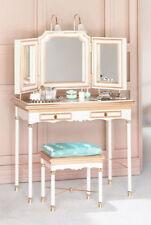RARE BARBIE SILKSTONE VANITY,BENCH,and ACCS Fashion Model GOLD LABEL NRFB #B3436