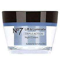 No7 Lift & Luminate TRIPLE ACTION Night Cream 50ml