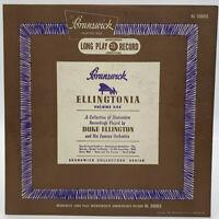 "Duke Ellington Ellingtonia Volume 1 10"" Record Brunswick 33-1/3 Jazz Vintage 10"