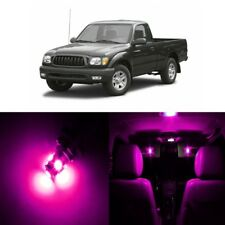 9 x Pink LED Interior Lights Package For 1995 - 2004 Toyota Tacoma + PRY TOOL