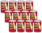 Pringles Potato Chips Delicious Taste Salt 12 Short Can 53g Japan