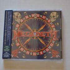 MEGADETH - Capitol punishment - 2000 CD JAPAN + 1 BONUS TRACK