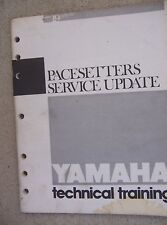 1981 - 1983 Yamaha Motorcycle Technical Manual Pacesetters Service Update  L