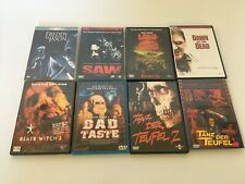 DVD Konvolut, Sammlung Horror