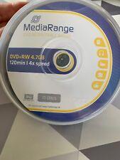 MEDIARANGE MR451 DVD+RW 4.7GB Cake Box rewritable