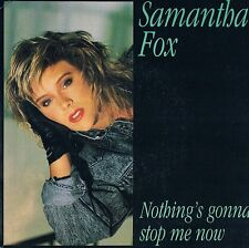 "Samantha Fox 7"" Nothing's Gonna Stop Me Now - France"