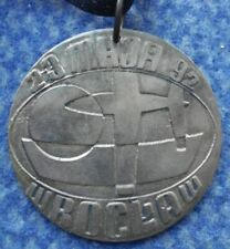 13th INTERNATIONAL CONTEST CONTROL LINE MODEL FLYING AIRPLANE POLAND 1992 MEDAL