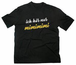 Ich Höre Nur Mimimi Fun T-Shirt Funshirt Mr Beaker Muppets Spruch Zitat Funny