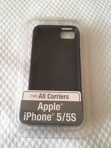 iPhone 5 **All Carriers** Silicone Shell Black