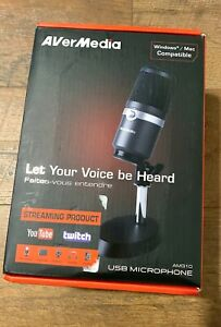 AVerMedia USB Microphone - Recording Streaming Podcasting AM310