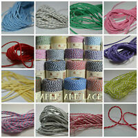 10m LENGTH - Beautiful BAKERS TWINE - Christmas Divine Colours UK Everlasto 4ply