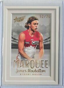 2021 AFL Footy Stars MARQUEE - James ROWBOTTOM #52/70 Sydney Swans