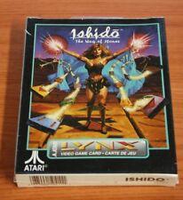 Atari Lynx  ISHIDO THE WAY OF STONES  neuf blister