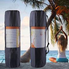 Portable Yoga Pilates Mat Mattress Case Bag Gym Fitness Exercise Workout Carrier