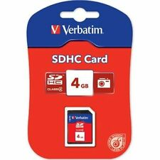 Verbatim 4GB SD CARD CLASS 4 SDHC MEMORY CARD FOR KODAK DIGITAL CAMERAS