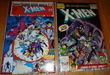 X-MEN ANNUALS #12,13 NM 9.4