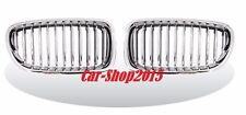 Front Kidney Grille Chrome-Black For BMW F10,F11,F18 5-Series '2010-'2015