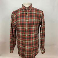 Ralph Lauren Button Down Shirt Multi Plaid Long Sleeve Mens Size M Classic Fit