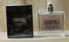 "PROFUMO UOMO ""GRIGIOPERLA NERO"" NATURAL SPRAY 50 ML ."