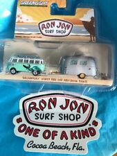 2018 GREENLIGHT RON JON SURF SHOP VW SAMBA Bus & AIRSTREAM BAMBI 3000 Made