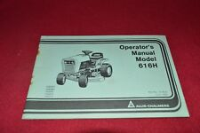 Allis Chalmers 616H Lawn Tractor Operator's Manual YABE16