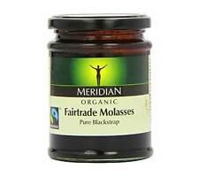Meridian Organic Blackstrap Molasses 350g Versatile Natural Sweetener
